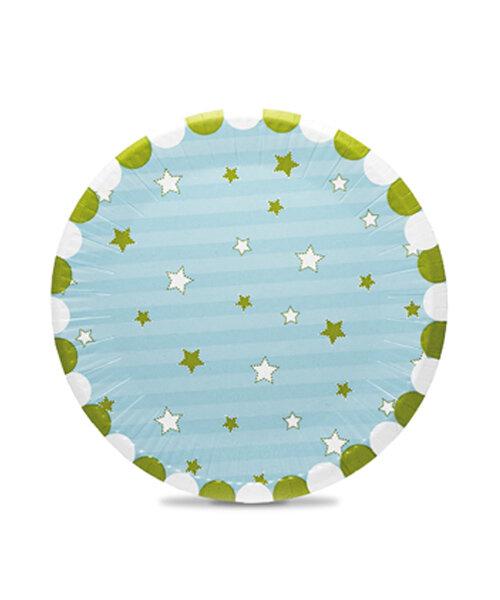 Тарелки бумажные Foodinbox