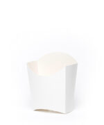 Packaging for french fries small white